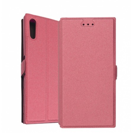 Book Pocket case for Sony Xperia XZ Dual F8332 - pink