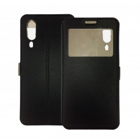 Book Window cover case for Samsung Galaxy A2 Core / SM-A260F/DS - black