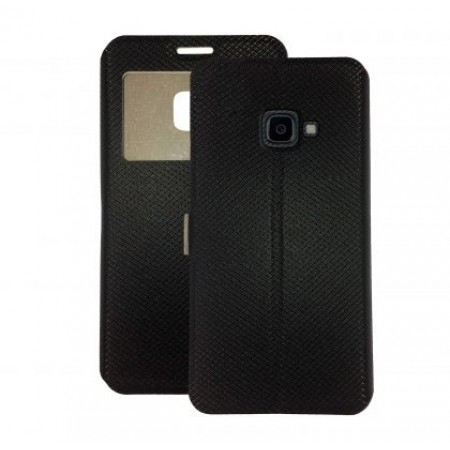 Book Window cover case for Samsung Galaxy Xcover 4s / SM-G398F - black