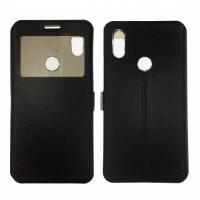 Book Window cover case for Xiaomi Redmi 7 - black