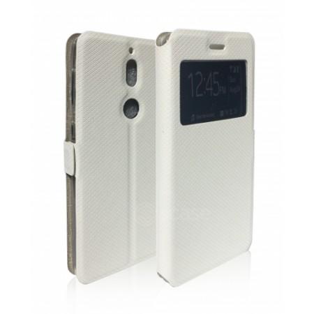 Book Window Pocket case for Nokia 7 TA-1041 - white