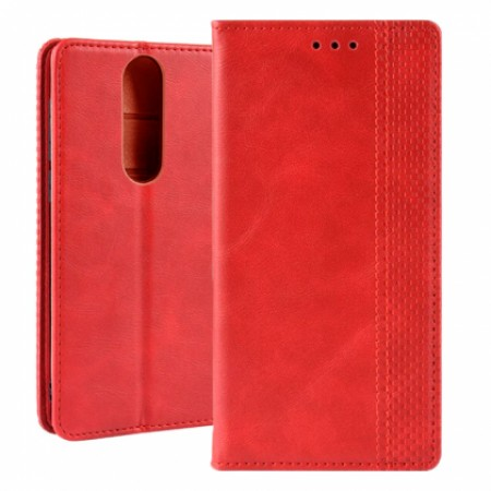 Lux Book Pocket case for Alcatel 3 / 2019 - red