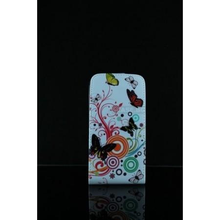 """Flip case """"Butterflies"""" for LG G2"""