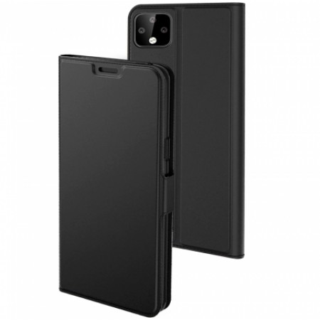 Black Lux Book case for Google Pixel 4