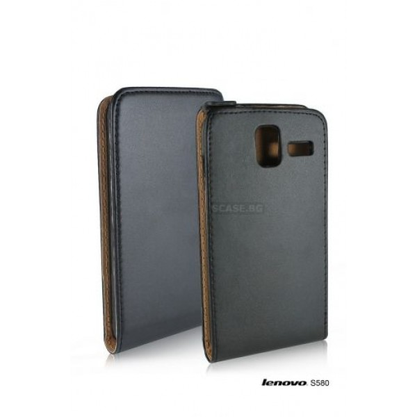 Black Flip case for Lenovo S580