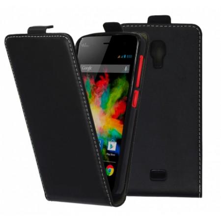 Flip case for Wiko Bloom - black