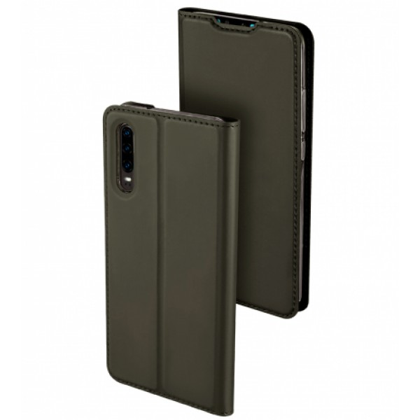 Graphite Book MAGNET Elegant case for Huawei P30 ELE-L09 , ELE-L29