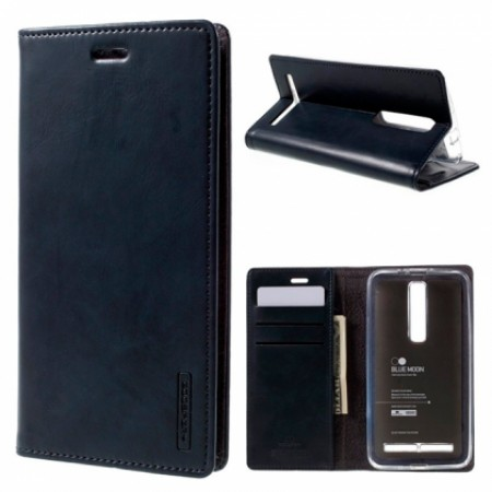 BLEU MOON Book case designed for Asus Zenfone 2 ZE551ML - blue color
