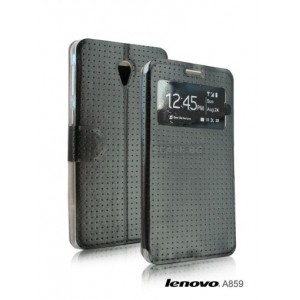 Leather Skin Case cover for Lenovo A859