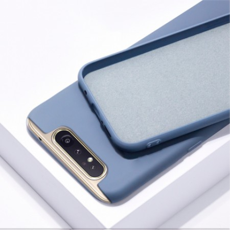 Nano TPU Silicone Case for Samsung Galaxy A80 / SM-A805F/DS - blue matt