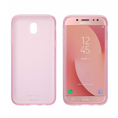 SAMSUNG Jelly Cover Galaxy J3 (2017) EF-AJ330 pink