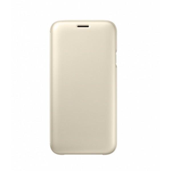 SAMSUNG Wallet Cover Galaxy J7 (2017) EF-WJ730 golden EF-WJ730CFEGWW
