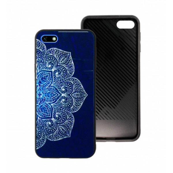 Blue Glass Case BETTER for Huawei Y5 2018 / Prime / Y5 Lite (2018)