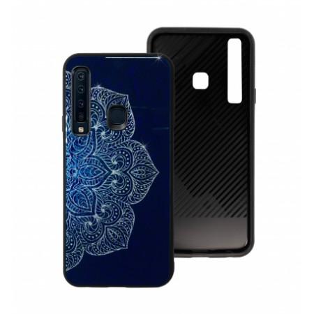 Blue Glass Case BETTER for Samsung Galaxy A9 2018 A920F