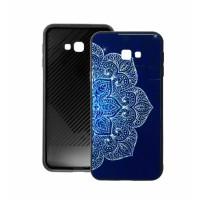 Blue Glass Case BETTER for Samsung Galaxy J4 Plus j415F