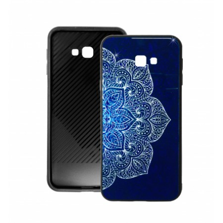 Blue Glass Case BETTER for Samsung Galaxy J4 Plus j415F