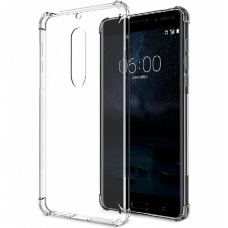 Transparent silicone backing AiRBAG for Nokia 5 TA-1053