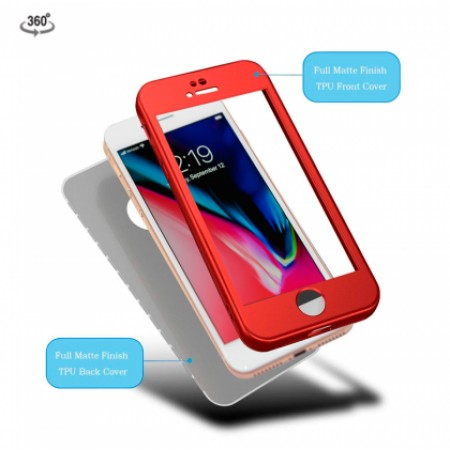 360* RED KOT Case for iPhone 7 / iPhone 8