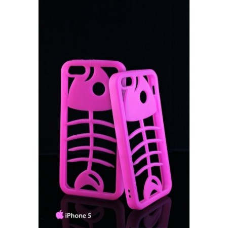 """Silicone bumper """"Fish"""" for iPhone 5 / 5S"""