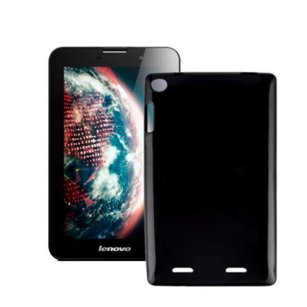 Black TPU Silicone Case for Lenovo IdeaTab A3000