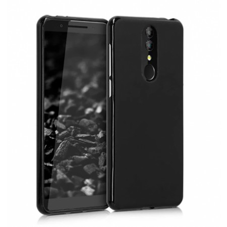 Black TPU Gel Silicone Case for Alcatel 3 2019 / 5053