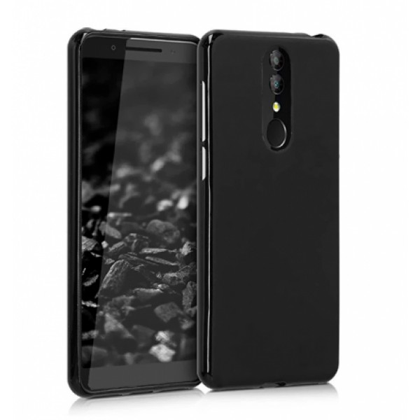 Black TPU Gel Silicone Case for Alcatel 3 2019 / 5053