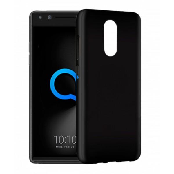 Black TPU Gel Silicone Case for Alcatel 5 5086d