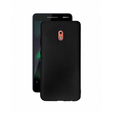 Black TPU Gel Silicone Case for Nokia 2.1