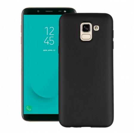 Black TPU Gel Silicone Case for Samsung Galaxy J6 J600F/DS