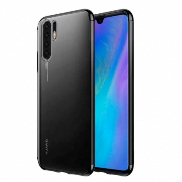 Glitter Case black frame silikone case  for Huawei P30 Pro
