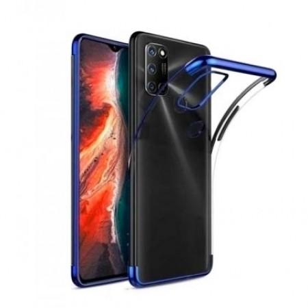 Glitter TPU Case blue frame silikone case  for Alcatel 3X 2020