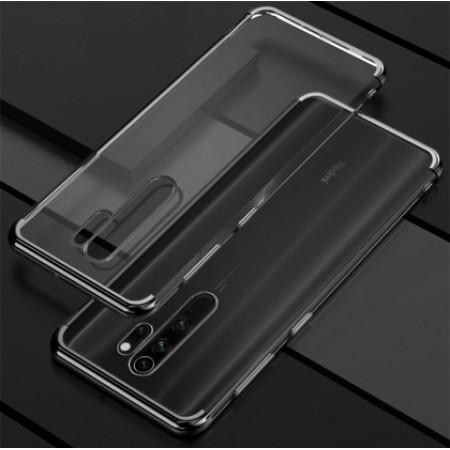 Glitter TPU Case black frame silikone case for Xiaomi Redmi Note 8 Pro / M1906G7I