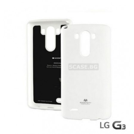 "Goospery jelly ""Mercury "" TPU Silicone Case for LG G3"