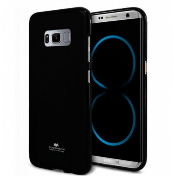 "Black TPU Silicone Goospery jelly ""Mercury "" Case for Samsung Galaxy S8 Plus G955F"