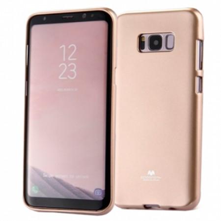 "Gold TPU Silicone Goospery jelly ""Mercury "" Case for Samsung Galaxy S8 Plus G955F"