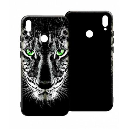 LUXO Black Tiger #TX3 print TPU Silicone Case for Huawei Honor 8X