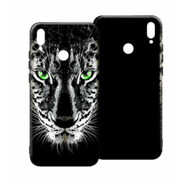 LUXO Black Tiger #TX3 print TPU Silicone Case for Huawei Honor 8X