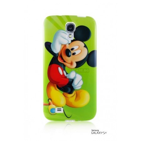 """TPU Gel Silicone Case """"Miki maus"""" for Samsung Galaxy S4 i9500"""