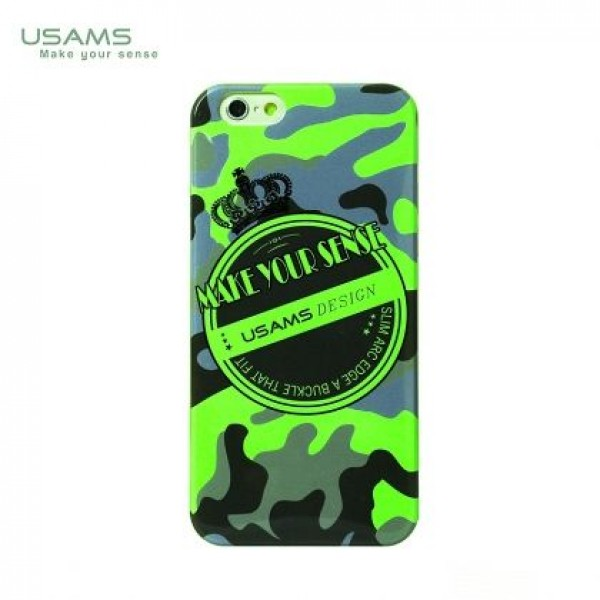 "Silicone case "" Мilitary"" USAMS for iiPhone 6"
