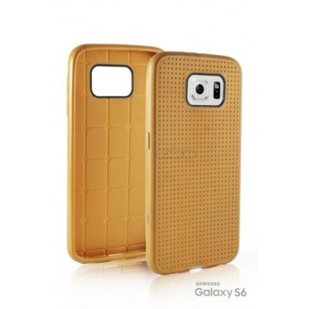 """TPU Gel Silicone Case """" Relief hole """" for Samsung Galaxy S6 SM-G920"""
