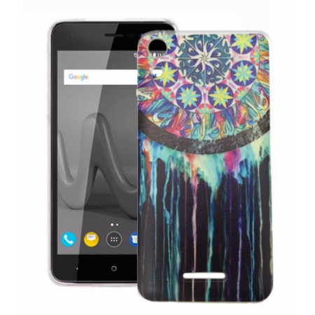 TPU Gel Silicone - Print Dreams Traps Case for Wiko Lenny 4