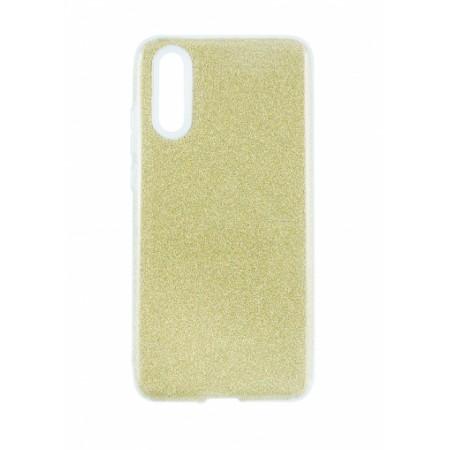 TPU Gel Silicone Case SHINE for Huawei P20 gold