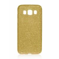 TPU Gel Silicone Case SHINE for Samsung Galaxy j5 2016 j510 gold