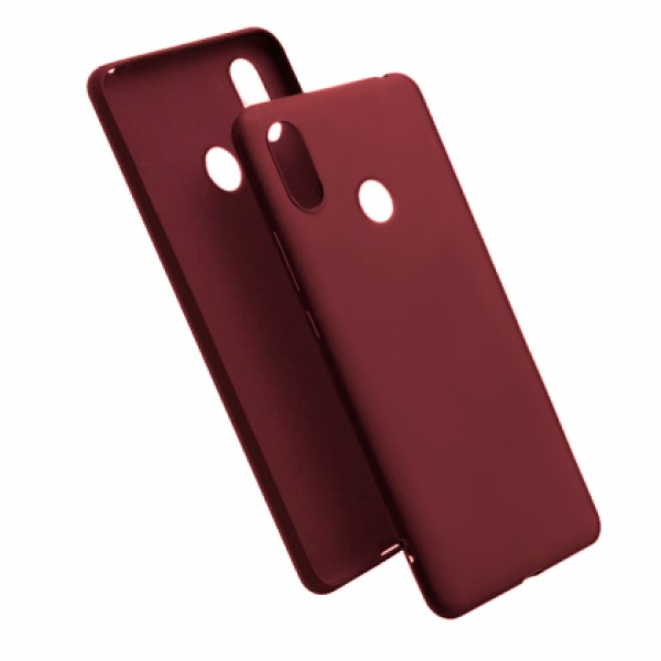 Wine TPU Gel Silicone Case for Xiaomi Mi A2 (Mi 6X)