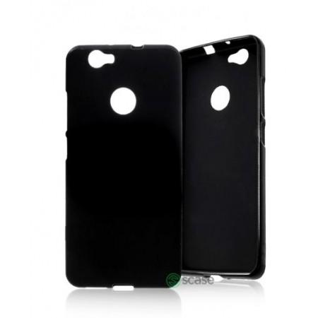 Black TPU Gel Silicone Case for Huawei nova