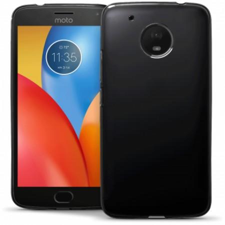 Black TPU Gel Silicone Case for Motorola Moto G5 Plus XT1684 / XT1685