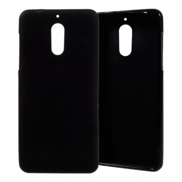 Black TPU Gel Silicone Case for Nokia 6 TA-1021