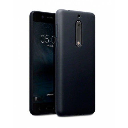 Black TPU Gel Silicone Case for Nokia 8