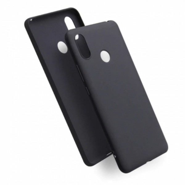 Black TPU Gel Silicone Case for Xiaomi Mi A2 (Mi 6X)