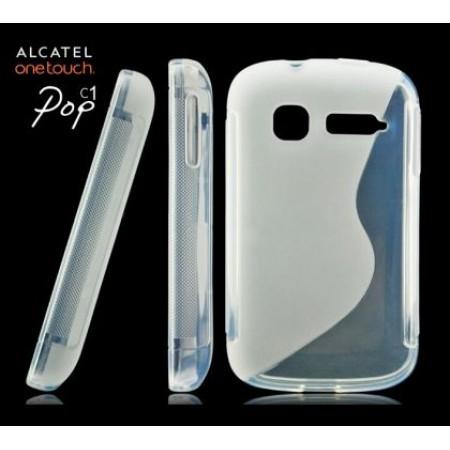 TPU Silicone S line Case for Alcatel Pop C1